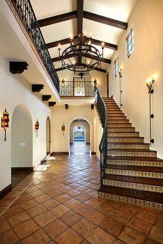 Gorgeous mexican hacienda entrance