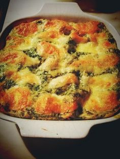 Tonhalas-spenótos lasagne Pie Crumble, Mozzarella, Quiche, Breakfast, Food, Mascarpone, Lasagna, Morning Coffee, Essen