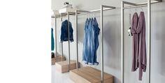 Decoracion mueble sofa: Percheros para tiendas de ropa