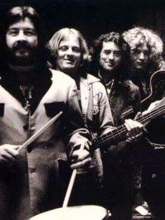 Jimmy Page, Robert Plant, John Bonham and John Paul Jones of Led Zeppelin! The Band, Great Bands, Cool Bands, Jimmy Page, Robert Plant, El Rock And Roll, Rock And Roll Bands, John Paul Jones, John Bonham