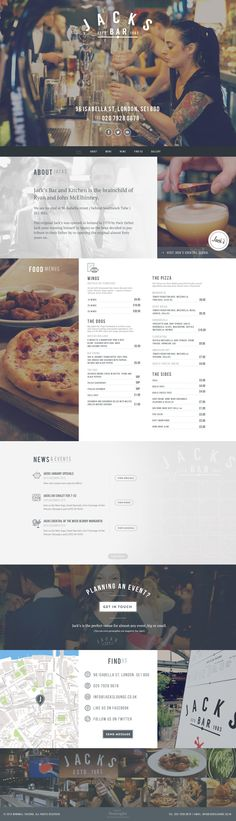 New design menu ideas creative restaurant branding Ideas Layout Design, Web Layout, Menu Design, Mise En Page Web, Ecommerce, Restaurant Website Design, Site Vitrine, Web Design Trends, Blog Design