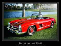 Daybreaking 300SL at the 2013 Desert Classics