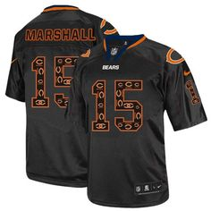 0213fc21c (Elite Nike Youth Peyton Manning Lights Out Black Jersey) Denver Broncos NFL  Easy Returns. Tracy Wry · Bears  15 Brandon Marshall Home Team Color ...