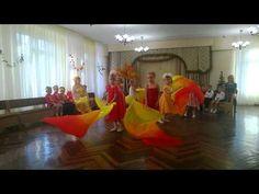 "танец ""Осенний ноктюрн"" с веерами - YouTube"