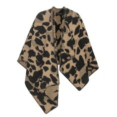 Burberry London - Printed wool and cashmere-blend cape - Burberry London shows off its wild side with this animal-print cape. The cosy cover-up is made from a rich wool and cashmere blend, making for a super-soft layer to finish an ensemble with. seen @ www.mytheresa.com