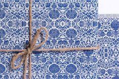 English Textile / Gift Wrap / 3 Sheets