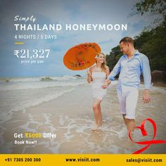 Thailand Honeymoon, Honeymoon Packages, Tourist Places, Travel Deals, Tourism, Twitter, World, Day, Books