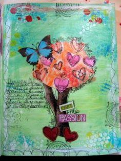 Les pages d'Isa: 2 autres pages de mon art journal!