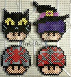 Halloween Mushrooms 3 by PerlerPixie.deviantart.com on @DeviantArt