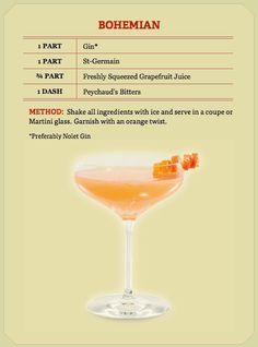 Signature drink? St-Germain Bohemian