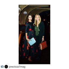 @precious7mag Fashion power #BFFs, Fashion Influencer and Editor in Chief @annamariasandegren for @precious7mag and luxury handbag @magriofficial designer @isabellaayoub attended last nights INLOVE FASHION Destination to kick off NYFW 2016. Here both ladies are carrying #magri #handbags #dress #precious7style #precious7mag #precious7mag #Différentes #instadaily #fashionblogger #inlovefashiondestination #fashioninfluencers #fashionistas #fashionevent #instadaily #igers