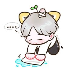Baekhyun Fanart, Chanyeol, Exo Cartoon, Chibi, Exo Anime, Exo Fan Art, G Dragon, Kpop, K Idols