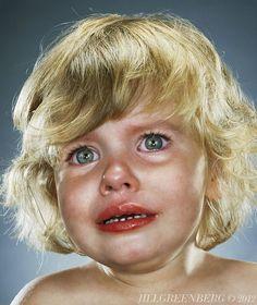Top 16 des portraits poignants d'enfants qui pleurent, par Jill Greenberg (on…