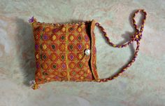 Vintage textile tote /  Peru embroidered hand by FiregypsyVintage, $41.39 https://www.etsy.com/listing/192536548/vintage-textile-tote-peru-embroidered