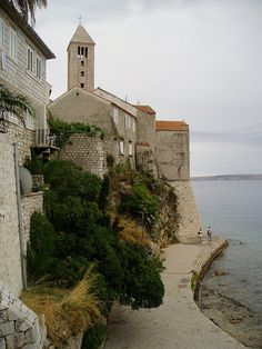 Rab Island  Church -  Adriatic coast of Rab Island, Croatia