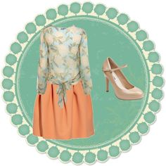 pretty in pastels, created by amandanevins.polyvore.com