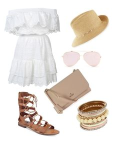 """""""Untitled #6"""" by jadasaenz on Polyvore featuring LoveShackFancy, G by Guess, Eric Javits and Vivienne Westwood"""