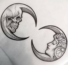 Pen and ink. Skull and life Skull Tattoos, Arm Tattoos, Flower Tattoos, Black Tattoos, Body Art Tattoos, Animal Tattoos, Tattoo Arm, Tattos, Moon Tattoos