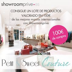 * Petit and Sweet Couture: ...Gana 100€ en ShowroomPrive!!...