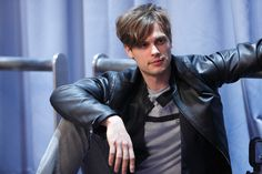 "Matthew Gray Gubler... quoting Leonard from The Big Bang Theory: ""Our kids will be smart and beautiful""!"