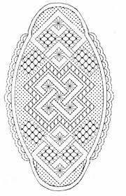 Resultado de imagen de patrones de bolsos de encaje de bolillos