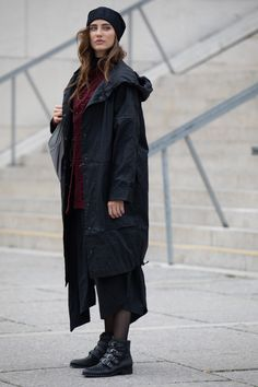 Fashion designer autumn black raincoat. You can wear it long or short, and even shorten its sleeves. For the perfect autumn coat outfit. by ART POINT ladies brand.  #fashiondiscovery #art_point #coat #fashion #style #coats_jackets #autumn_coat #jacket_coat #long_coat #coat_for_fall #coat_outfit #coat_style #casual_coat #designer_coat #coat_fashion #black_coats #womens_fall_coat #ladies_coat #fashion_coat #black_coat_outfits #womens_casual_coat #raincoat #raincoat_outfit #black_raincoat