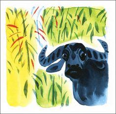 Watercolor images from The Jungle Book Watercolor Images, Watercolor Artwork, Watercolor Illustration, Disney Concept Art, Visual Development, Moose Art, Drawings, Painting, Rudyard Kipling