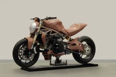 2014-Ducati-Monster-1200; full-size clay model
