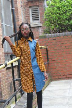 Girls Embellished Ankara Shirt Dress for African Shirt Dress, Short African Dresses, African Print Shirt, African Print Dresses, African Fashion Dresses, African Attire, African Wear, African Kids, African Outfits