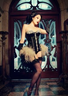 """"""" (Sophia Loren) - This is just an image collection of interesting impressions from the virtual world. Dita Von Teese, Nylons, Burlesque Corset, Sexy Corset, Black Garter, Corset Costumes, Lingerie Party, Couture, Lingerie Models"""