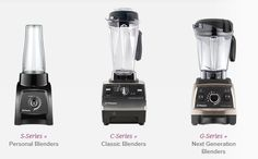 Which Vitamix Blender is best for you? Read to determine which one will make the items you need!