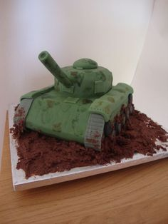My dream birthday cake! Army Cake, Military Cake, Military Party, Army Party, Cake Decorating Designs, Cake Designs, Army Birthday Cakes, 5th Birthday, Fondant Cakes