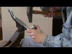 Forging and Hammering the Cuff Bracelet