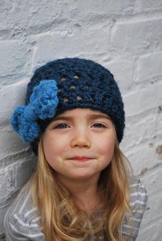 Baby, Child, Adult Crochet Hat Pattern by Ashley Lillis, $5.50