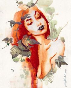 Poison Ivy by Jeff Dekal. ❣Julianne McPeters❣ no pin limits