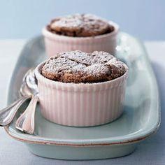 Individual Chocolate Soufflé Cakes | MyRecipes.com