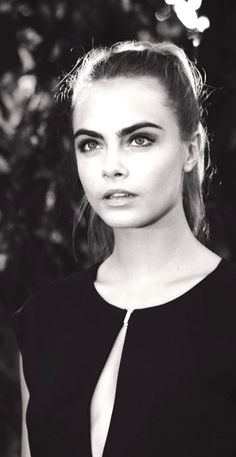 Cara Delevigne's face gives me life. For freaking real