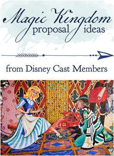 Magic Kingdom Proposal Ideas from Disney Cast Members