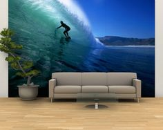 Beach surf wall murals continue quickly and come off just like easily. Advances in publishing and materials have resulted in bright, vibrant.