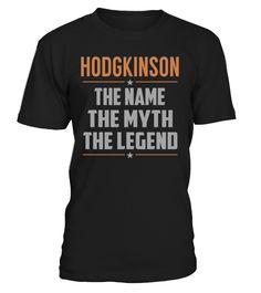 HODGKINSON - The Name - The Myth - The Legend #Hodgkinson