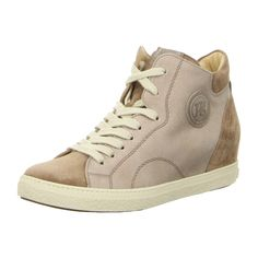 NEU: Paul Green Sneaker Schnürer 1401-279 - antelope/rosewood -