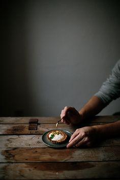 Christmas breakfast - seed tarts with orange mascarpone and pistachios / Marta Greber