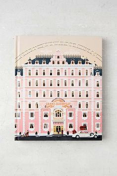 The Wes Anderson Collection: The Grand Budapest Hotel By Matt Zoller Seitz & Anne Washburn - Urban Outfitters