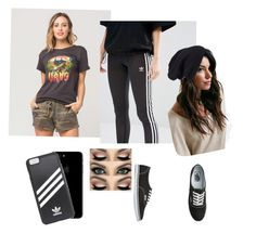 """Untitled #17"" by mascaraholic on Polyvore featuring Vans, adidas, adidas Originals and Halogen"