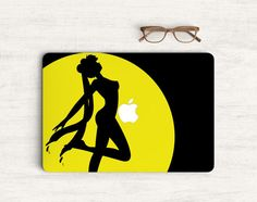 Sailor Moon Sticker Skin Vinyl Decal for MacBook by Pattynapit