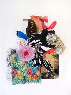 Shinique Smith, Double Dahlia$3000 print edition of ten