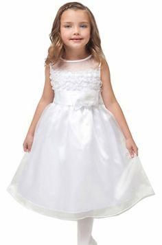 KID Collection Girls White Flower Girl Communion Dress Size 6 Kid Collection,http://www.amazon.com/dp/B008XDMJW8/ref=cm_sw_r_pi_dp_ujJktb16VD3Z6H72