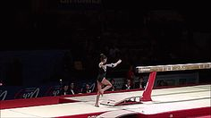 MCSMaria's Artistic Gymnastics Blog: A Unique Beam Mount from Olivia Cimpian