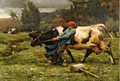 In the Pasture- Julien Dupre