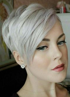 35 New Short Hairstyles for 2019 - Pixie & Bob Haircuts You Will LOVE - Love Cas . 35 New Short Hairstyles for 2019 - Pixie & Bob Hairstyles, . Short Hairstyles For Thick Hair, Short Hair Cuts, Curly Hair Styles, Pixie Cuts, Layered Hairstyles, Hair Short Bobs, Short Bob Cuts, Nice Hairstyles, Haircut For Thick Hair